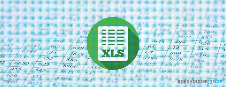 Boekhouden met Excel voor zzp'ers