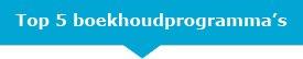 Top 5 Boekhoudprogramma's ZZP