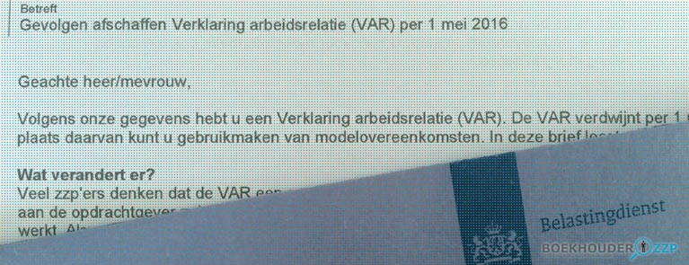 VAR-verklaring vervalt en afgeschaft